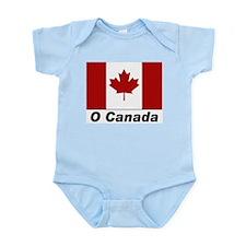 O Canada Flag Infant Creeper