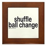 Shuffle Ball Change Framed Tile