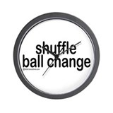 Shuffle Ball Change Wall Clock