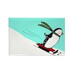 Penguin JOY Rectangle Magnet (100 pack)