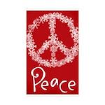 peace Sticker (Rectangle 50 pk)