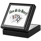 Show Me Money Poker Keepsake Box