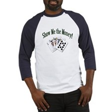 Show Me Money Poker Baseball Jersey