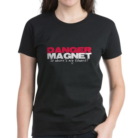Danger Magnet Edward Women's Dark T-Shirt