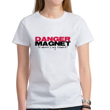 Danger Magnet Edward Women's T-Shirt