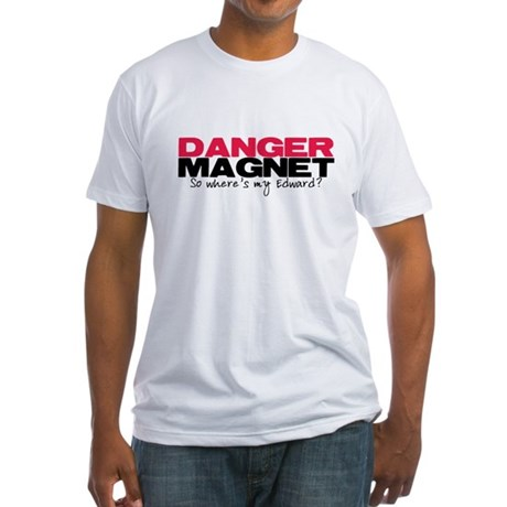 Danger Magnet Edward Fitted T-Shirt
