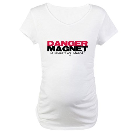 Danger Magnet Edward Maternity T-Shirt