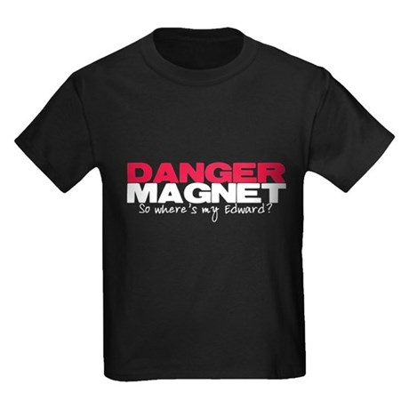 Danger Magnet Edward Kids Dark T-Shirt