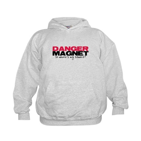Danger Magnet Edward Kids Hoodie
