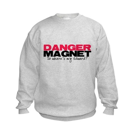 Danger Magnet Edward Kids Sweatshirt