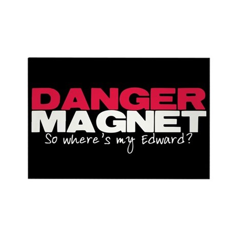 Danger Magnet Edward Rectangle Magnet