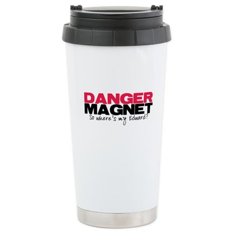 Danger Magnet Edward Ceramic Travel Mug