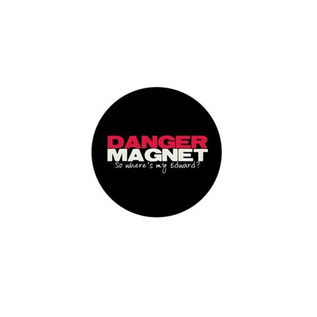 Danger Magnet Edward Mini Button (10 pack)