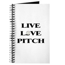 Live, Love, Pitch (Baseball) Journal