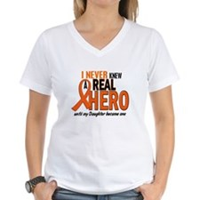 Never Knew A Hero 2 ORANGE (Daughter) Shirt