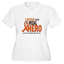 Never Knew A Hero 2 ORANGE (Daughter) T-Shirt