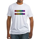 We are Equal Fitted T-Shirt