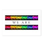 We are Equal Postcards (Package of 8)