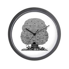 Heavy Metal Wall Clock