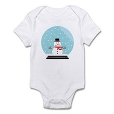 Snowman in a Snow Globe Infant Bodysuit