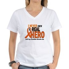Never Knew A Hero 2 ORANGE (Grandson) Shirt