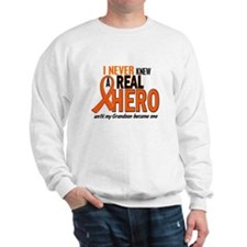 Never Knew A Hero 2 ORANGE (Grandson) Sweatshirt