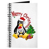 Merry Christmas Penguins Journal