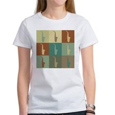 Saxophone Pop Art Tee
