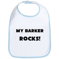 MY Barker ROCKS! Bib