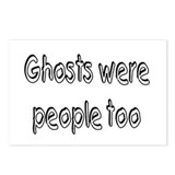 Ghosts Were People Too Postcards (Package of 8)