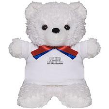 A Clerk is my Superhero Teddy Bear