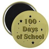 100 Days of School Magnet