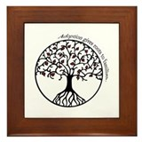 Adoption Roots Framed Tile