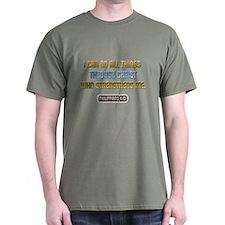 Christ Strengthens Me T-Shirt