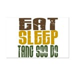 Eat Sleep Tang Soo Do Mini Poster Print