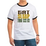 Eat Sleep Tang Soo Do Ringer T