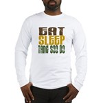 Eat Sleep Tang Soo Do Long Sleeve T-Shirt