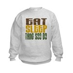 Eat Sleep Tang Soo Do Kids Sweatshirt