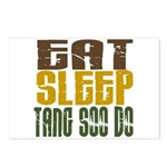 Eat Sleep Tang Soo Do Postcards (Package of 8)