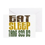 Eat Sleep Tang Soo Do Greeting Card