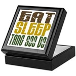 Eat Sleep Tang Soo Do Keepsake Box