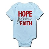 GreyRibbonHope Infant Bodysuit