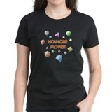 Women's Bejeweled 'No More Moves' Dark T-Shirt