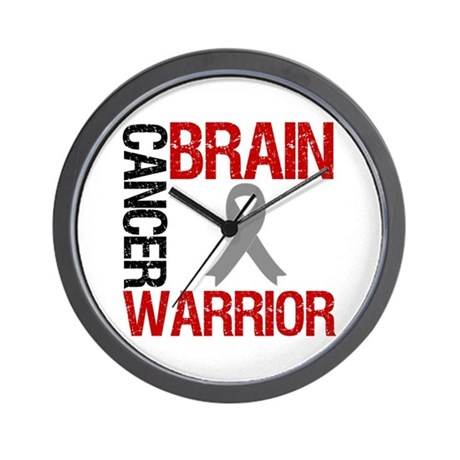 BrainCancerWarrior Wall Clock