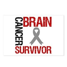 BrainCancerSurvivor Postcards (Package of 8)