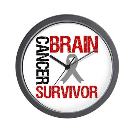 BrainCancerSurvivor Wall Clock
