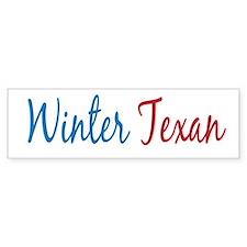 Winter Texan Bumper Bumper Sticker