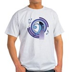Bass Clef Deco2 Light T-Shirt