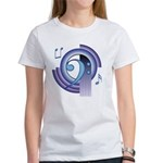 Bass Clef Deco2 Women's T-Shirt
