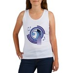 Bass Clef Deco2 Women's Tank Top